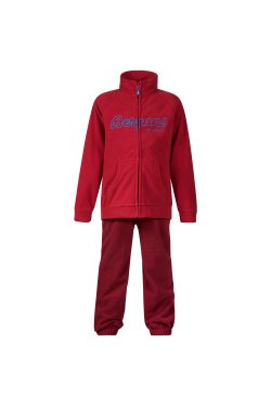 Bergans Костюм W18 Smadol Kids Set Red/Burgundy/Lt WinterSky 6904