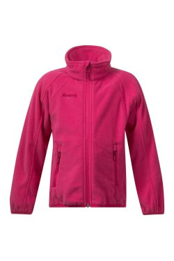 Bergans Кофта W18 Bolga Kids Jkt Hot Pink 6966