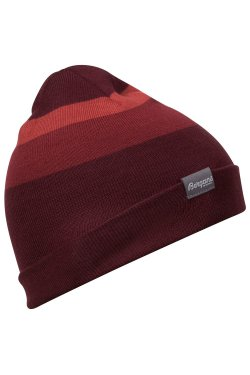 Bergans Шапка W19 Tonal Beanie Wine/Bordeaux/Lounge 6225