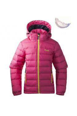 Bergans Куртка DOWN YOUTH HotPink/Citrus/Navy 7623