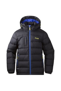 Bergans Куртка DOWN YOUTH SolidCharcoal/Cobalt/Citrus 7622