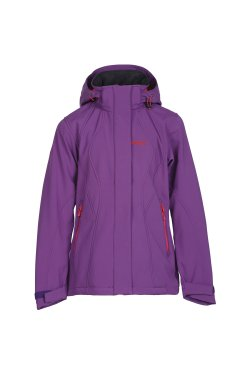 Bergans Куртка FOLLA GIRL Amethyst/Hot Red 6357
